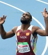 Omar Monterola le dio la segunda medalla de plata a Venezuela en Río/@MervinMaldonado
