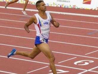 Samuel Colmenares participará en la final de 400 metros / Foto Cortesía