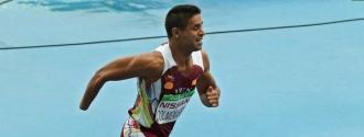 Colmenares finalizó sexto en la prueba de atletismo / Foto @Mindeporte