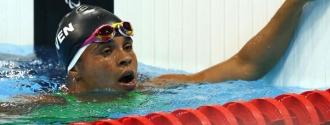 Mota también mejoró su marca en los 400 mts libres| Foto Cortesía