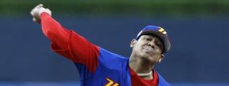 Félix Hernández tuvo dos aperturas por Venezuela /Foto AP