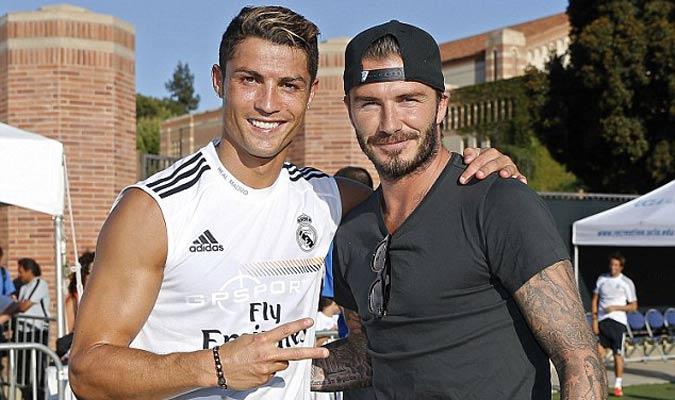Beckham quiere a Ronaldo como bandera del equipo/ Foto Cortesía