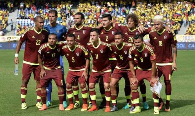 Venezuela se preparaba para enfrentar a Colombia    Foto: Cortesía
