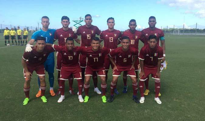 La Vinotinto contará con 23 jugadores para el torneo/ Foto Cortesía