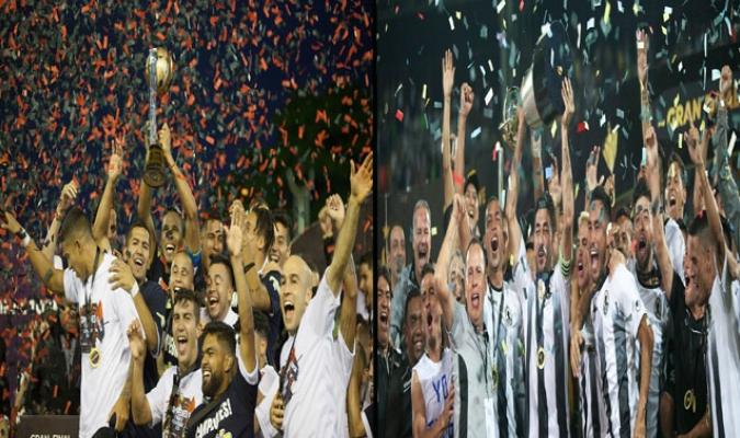 Los dos clubes comandaron la presente campaña del balompié criollo / Foto: Cortesía