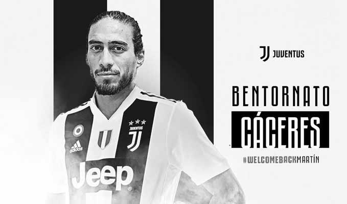 El uruguayo tendrá su tercera etapa en el club    Foto: Juventus FC