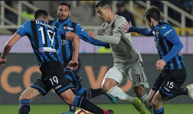 Atalanta logró dominar a la Juve con buena ventaja Foto: Cortesía