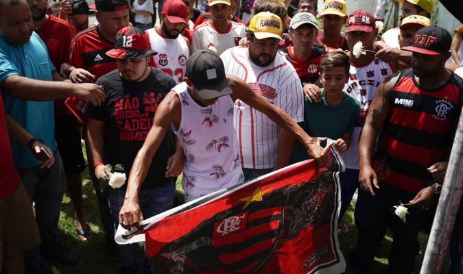 La sede de Flamengo sufrió un catastrófico accidente | Foto: AP