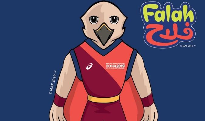 Falah será la mascota del Mundial de Atletismo / Foto: Cortesía