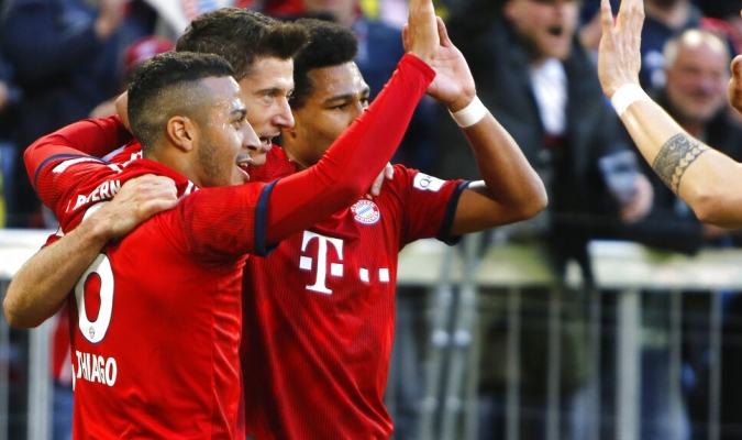 El Bayern expone el liderato / Foto: AP