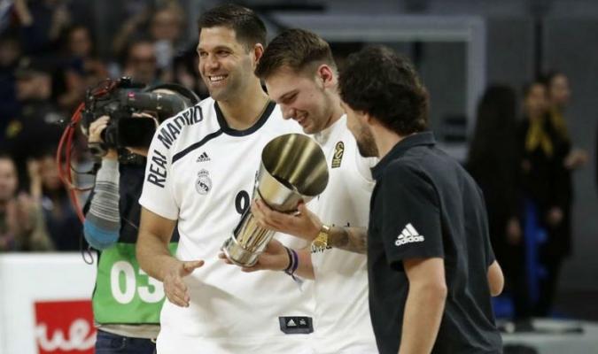 Doncic fue bien recibido en Madrid // Foto: Cortesía