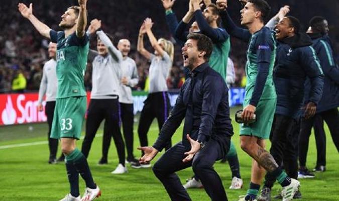 Pochettino se mostró eufórico tras la intratable remontada del Tottenham | Foto: EFE