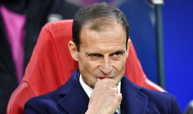 El futuro de Allegri con la Juve podría tener un cambio radical // Foto: AP