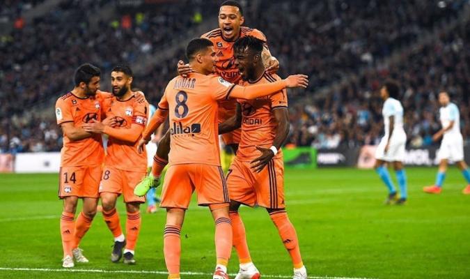 Lyon se acerca al tecer lugar de la Ligue 1 // Foto: Cortesía