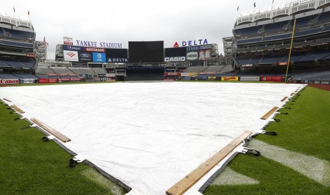 El duelo entre Yanquis y Orioles fue pospuesto por el mal tiempo // Foto: AP