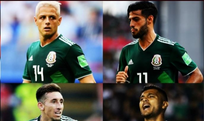 'Chicharito', Vela, Corona y Herrera estarán ausentes en la Copa Oro   Foto: Cortesía