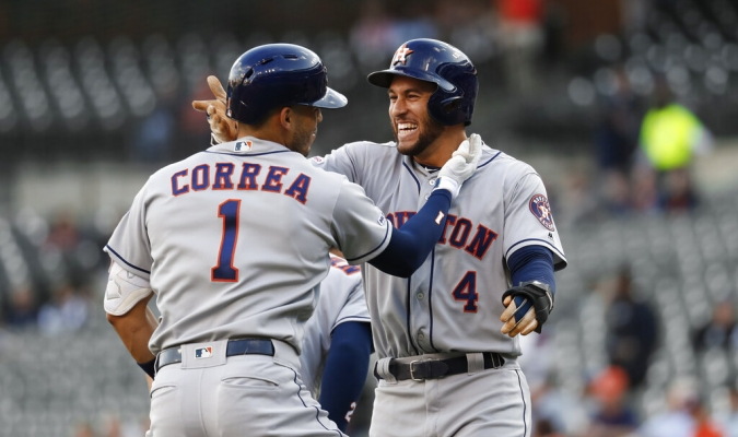 Correa comandó el lauro de Astros | Foto: AP
