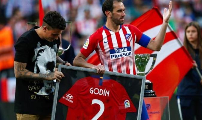 El uruguayo tiene su corazón en el Atlético // Foto: Cortesía