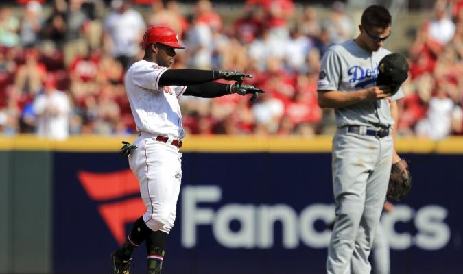 Rojos le propinaron nueve ceros a Dodgers | Foto: AP