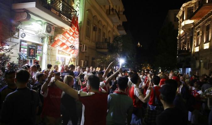 Las calles d Bakú están tranquilas // Foto: AP