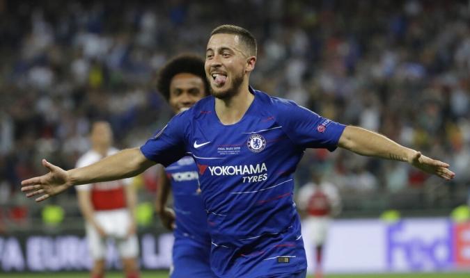 Hazard creer que jugó su último partido con el Chelsea | Foto: AP