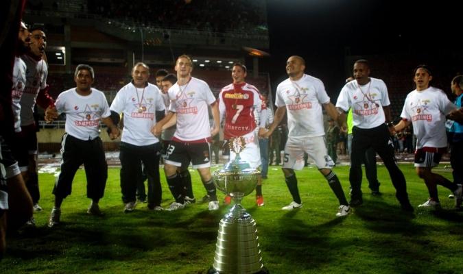 Caracas celebró la décima primera estrella hace nueve años | Foto: @Caracas_FC