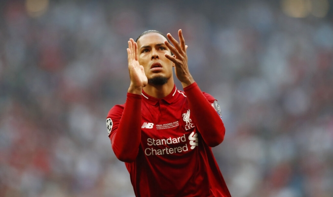Van Dijk fue una muralla en la zaga Reds | Foto: AP