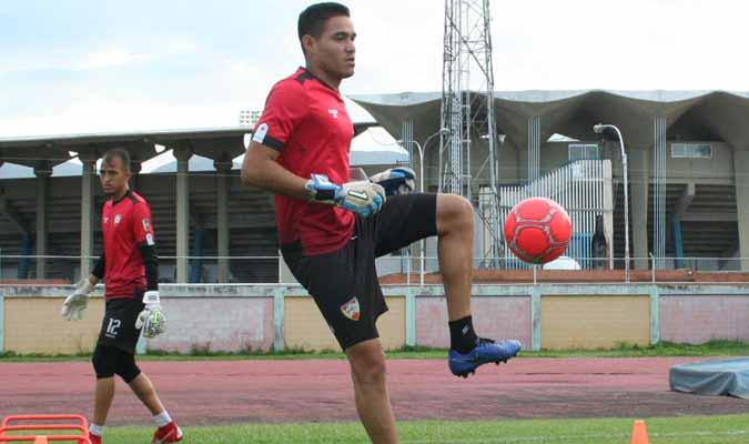 El meta lidera el pórtico de Maracay || Foto: Aragua FC