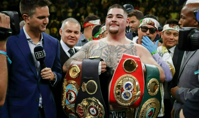 Ruiz se quiere medir ante Wilder // Foto: AP