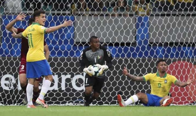 El caraqueño brilla en Brasil || Foto: AP