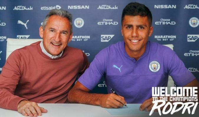 Rodrigo firmó por cinco temporadas / Foto: Cortesía