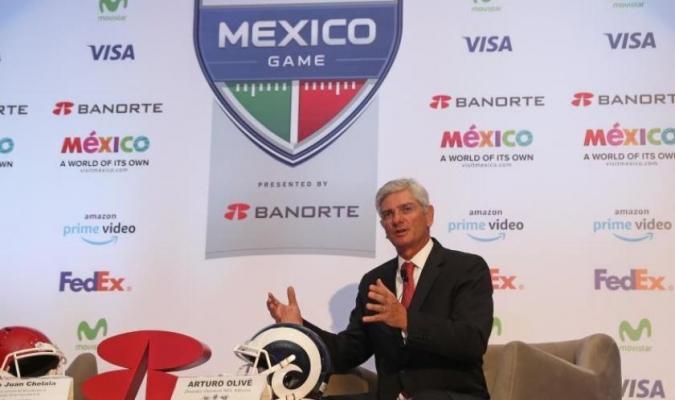 El mandatario aseguró las condiciones óptimas del estadio Azteca // Foto: Cortesía