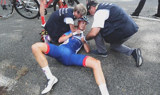 Terpstra se vio obligado a abandonar el Tour / Foto: Cortesía