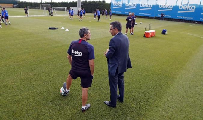 Valverde repaso los fichajes del equipo / Foto: Cortesía