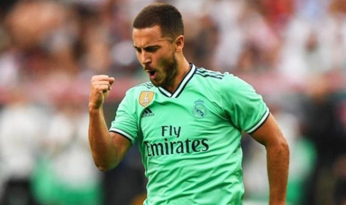 Hazard anotó el único gol del partido/ Foto EFE