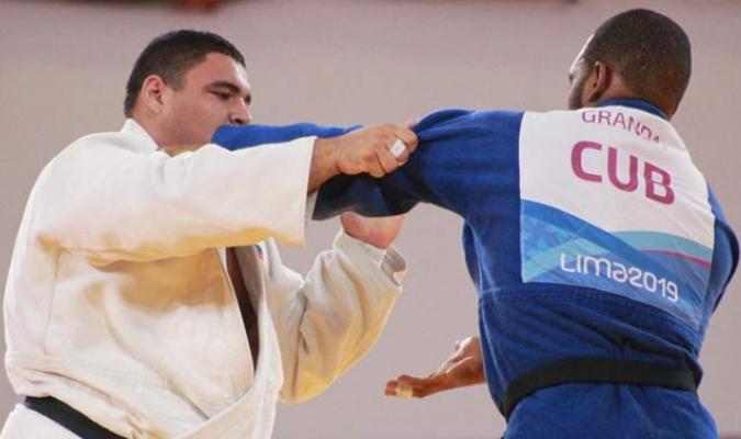 Pineda no pudo con el cubano / Foto: Punto Olímpico