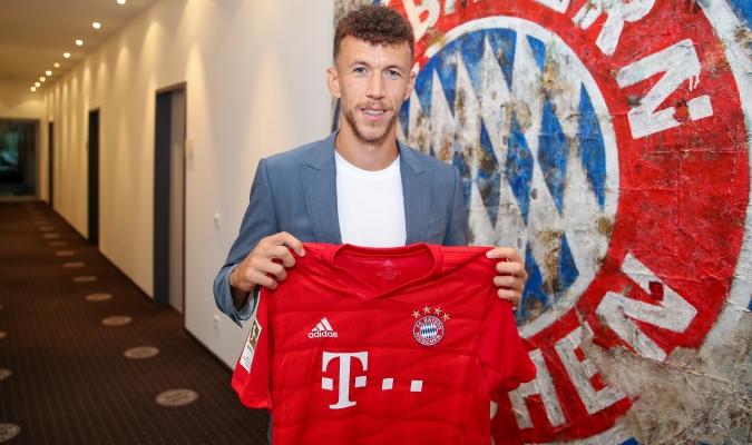 Perisic fue presentado en Bayern / Foto: Cortesía