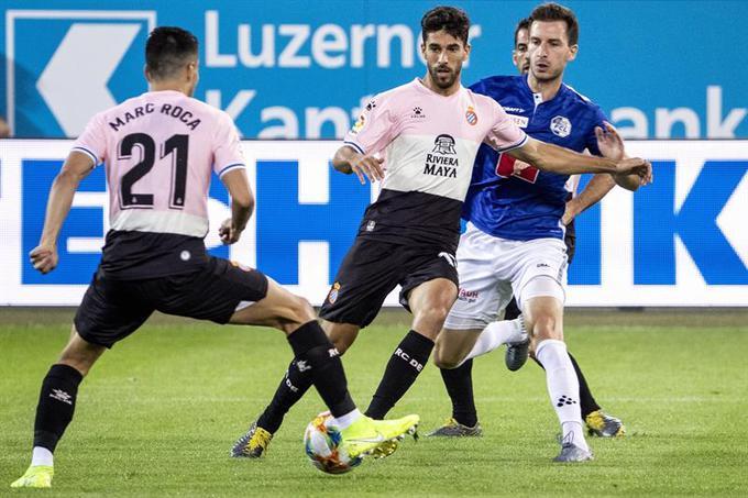 El partido de ida culminó 3-0 a favor de los españoles l Foto: Cortesía