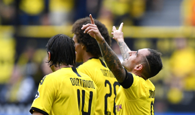 Alcácer marcó doblete en el arranque liguero / Foto: Cortesía