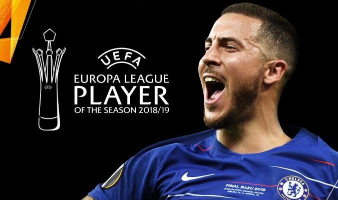 Hazard fue el jugador más destacado de la pasada edición de la UEL / Foto: Cortesía