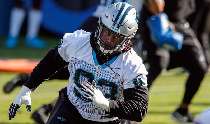 McCoy pertenece a los Panthers / Foto: AP