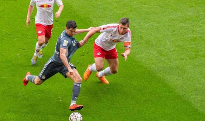 Lewandowski marcó el gol del Bayern/ Foto: Cortesía