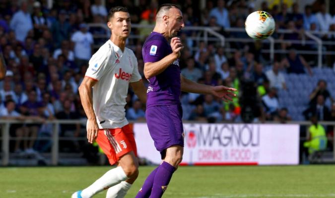 La Juventus dejó puntos en el Artemio Franchi /  Foto: AP