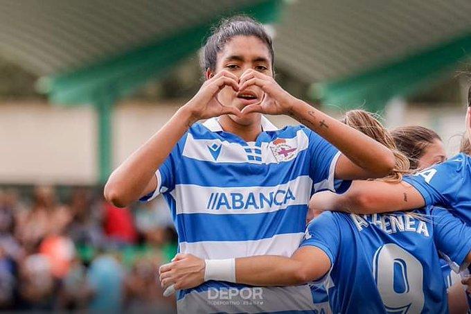 García marcó este fin de semana / Foto: Deportivo La Coruña