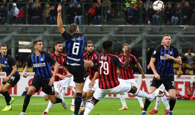 El derbi de Milán destaca en la jornada de la Seria A / Foto: Cortesía