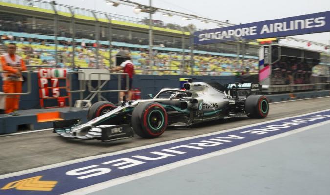 Hamilton lideró los segundos entrenamientos / Foto: AP