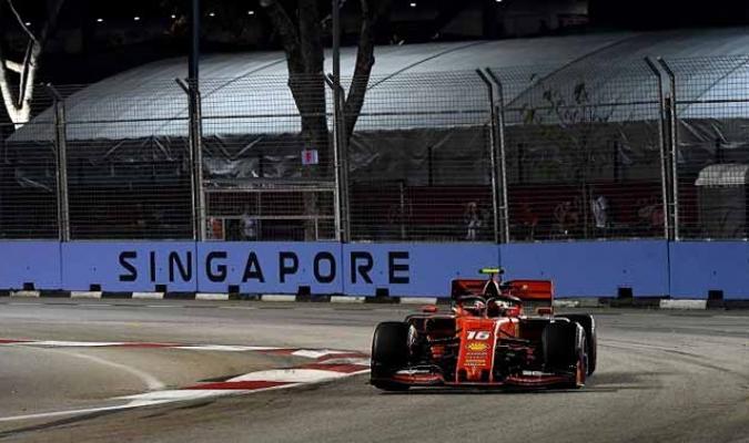 La carrera se correrá en el circuito urbano de Marina Bay l Foto: Cortesía