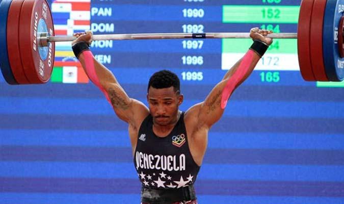 El criollo compitió en la categoría 73 kilogramos l Foto: Cortesía