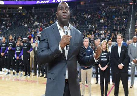 Jonhson jugó con los Lakers en NBA / Foto: Cortesía