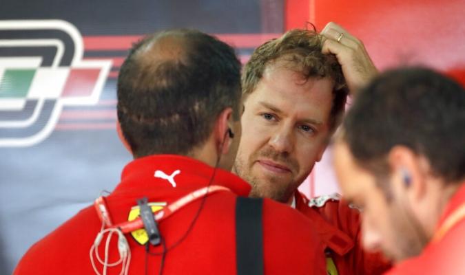 Vettel partirá tercero en Sochi / Foto: AP